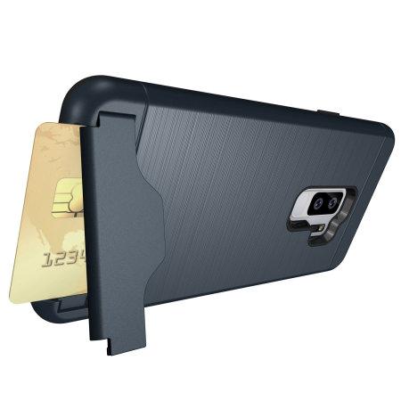 1db2efbc1f8 Funda Samsung Galaxy S9 Plus Olixar X-Ranger Survival - Azul marino