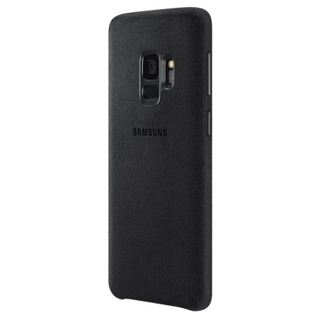 Official Samsung Galaxy S9 Alcantara Cover Case - Black
