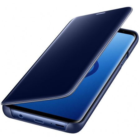 Official Samsung Galaxy S9 Plus Clear View Stand Cover Case - Blue