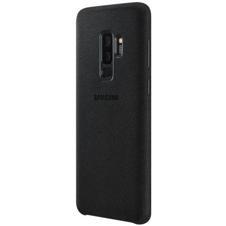 Official Samsung Galaxy S9 Plus Alcantara Cover Case Black