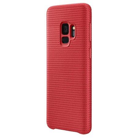 Funda Oficial Samsung Galaxy S9 Hyperknit Cover - Roja