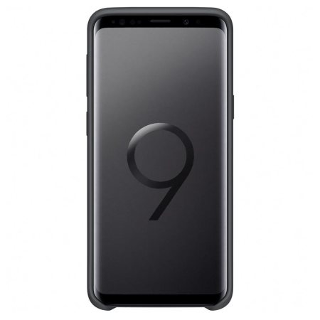 Official Samsung Galaxy S9 Silicone Cover Case - Schwarz