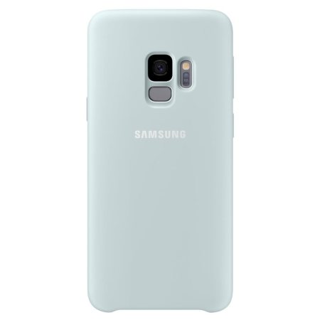 Official Samsung Galaxy S9 Silicone Cover Case - Mint Green