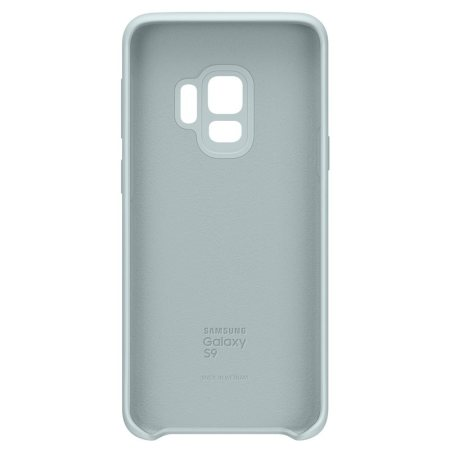 Official Samsung Galaxy S9 Silicone Cover Skal - Blå
