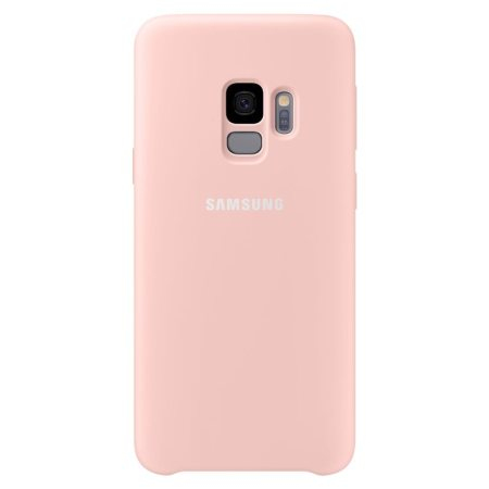 Official Samsung Galaxy S9 Silicone Cover Case - Roze