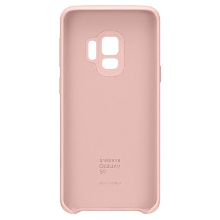 Official Samsung Galaxy S9 Silicone Cover Case - Pink