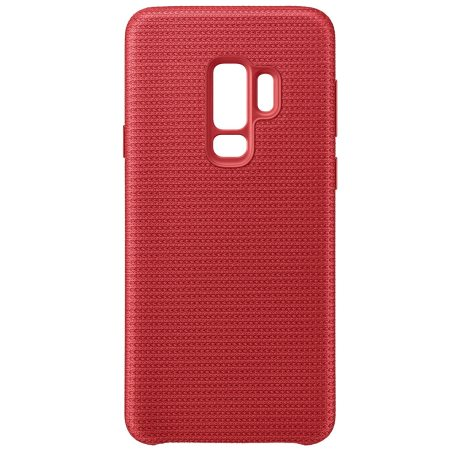 Coque Officiel Samsung Galaxy S9 Plus Hyperknit Cover - Rouge