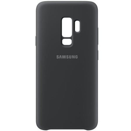 Official Samsung Galaxy S9 Plus Silicone Cover Case - Zwart