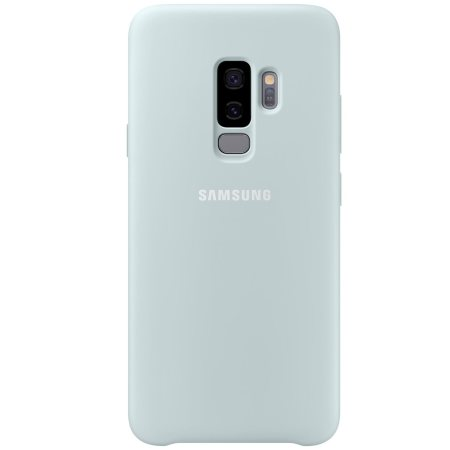 best service 69170 aa430 Official Samsung Galaxy S9 Plus Silicone Cover Case - Blue