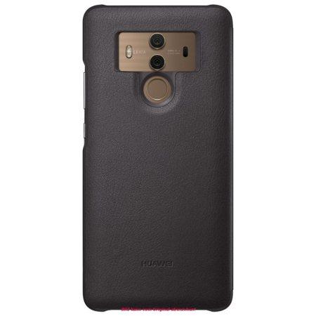 Official Huawei Mate 10 Pro Smart View Flip Fodral - Grå