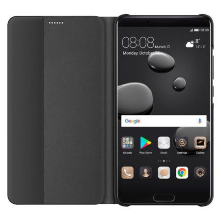 Official Huawei Mate 10 Smart View Flip Case - Black