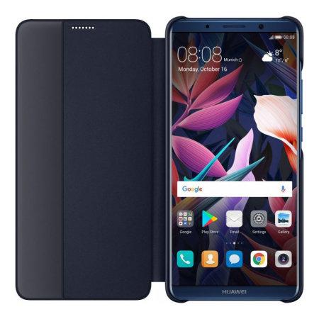 Official Huawei Mate 10 Pro Smart View Flip Case - Deep Blue