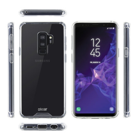 Olixar ExoShield Tough Snap-on Samsung Galaxy S9 Plus Case - Clear