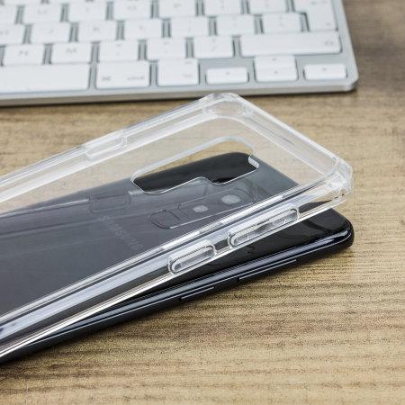 Olixar ExoShield Tough Snap-on Samsung Galaxy S9 Plus Skal - Klar