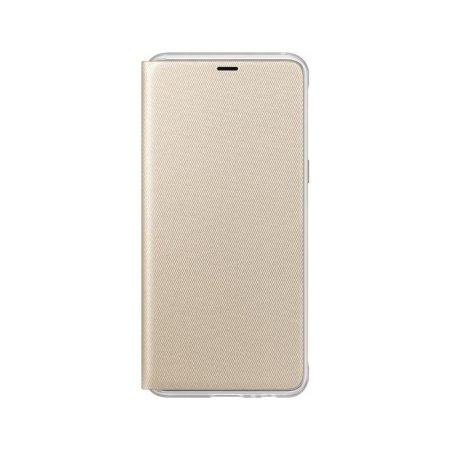 Neon Flip Case Officielle Samsung Galaxy A8 2018 - Or