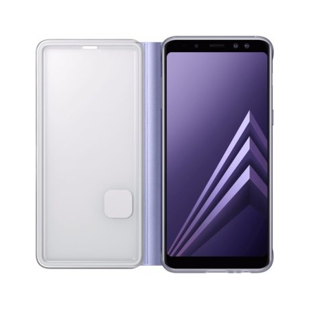 Neon Flip Case Officielle Samsung Galaxy A8 2018 - Gris