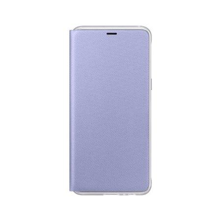 Funda Oficial Samsung Galaxy A8 2018 Neon Flip Wallet - Gris