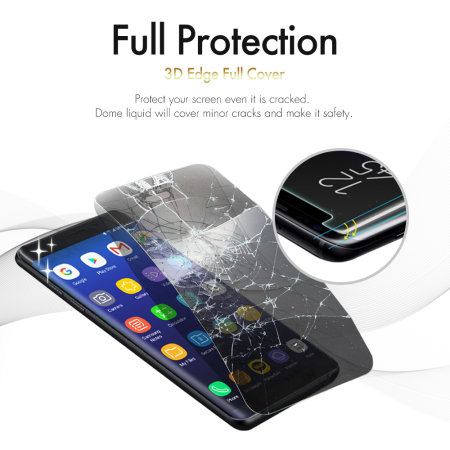 Whitestone Dome Glass Samsung Galaxy S9 Full Cover Screen Protector
