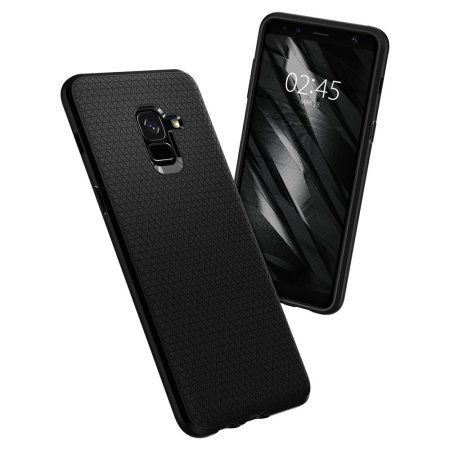best service 9f7f3 d3ef7 Spigen Liquid Air Samsung Galaxy A8 2018 Case - Black