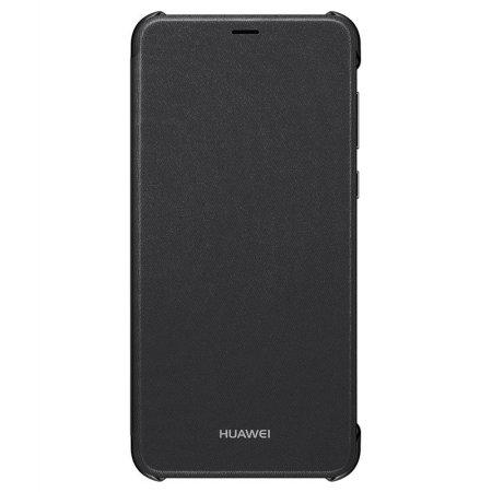 Official Huawei P Smart 2018 Flip Case - Black