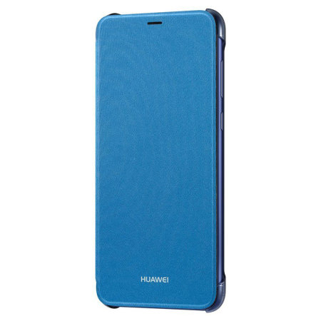 sports shoes 12f9f 3244f Official Huawei P Smart 2018 Flip Case - Blue