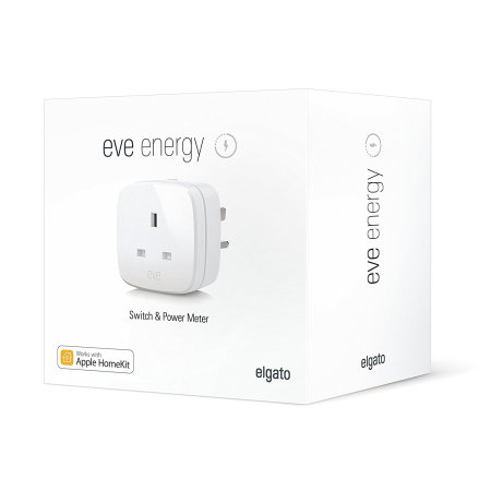 Elgato Eve Energy Wireless Power Monitor and Switch - UK Mains Plug