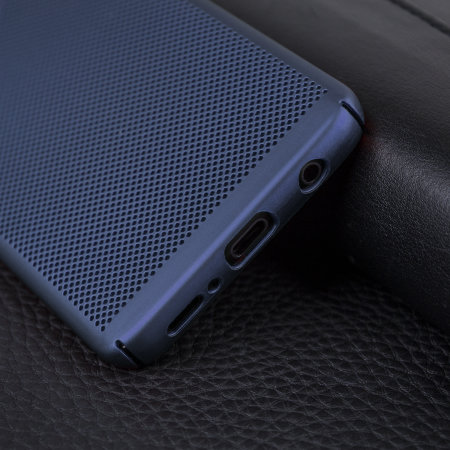 Samsung Galaxy S9 Case - Olixar MeshTex Blue