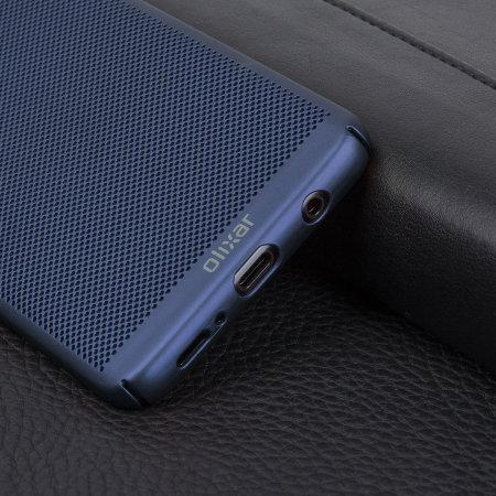 Olixar MeshTex Samsung Galaxy S9 Plus Case - Blauw