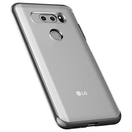 check out cba34 8aa72 VRS Design Crystal Bumper LG V30 Case - Steel Silver