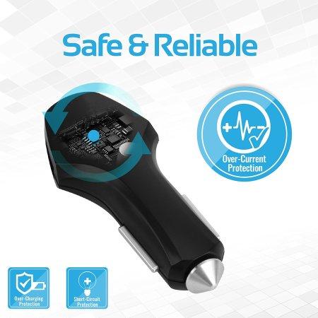 Chargeur Voiture Promate Trinix-2 8.4A Quick Charge Triple Port
