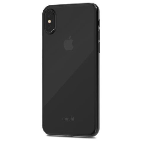 moshi superskin iphone x slim case - stealth black