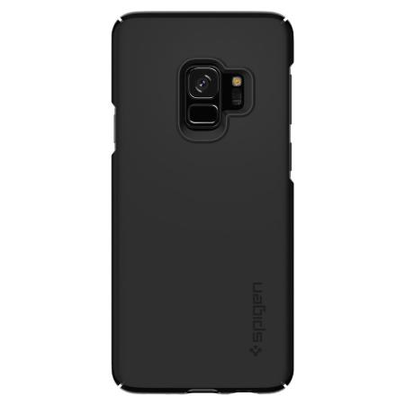 promo code 3e573 2e80c Spigen Thin Fit Samsung Galaxy S9 Case - Black