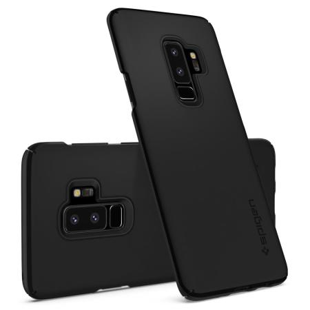 lowest price 9cbfd 13d37 Spigen Thin Fit Samsung Galaxy S9 Plus Case - Black