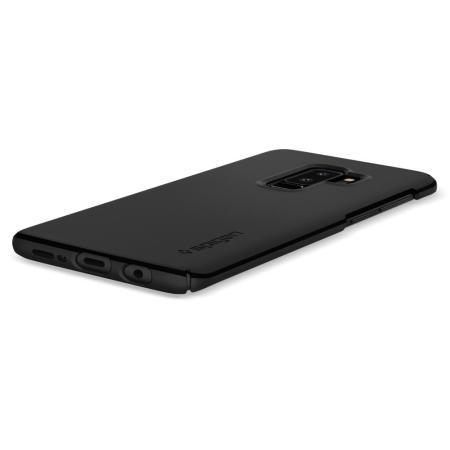 lowest price c2b1d d0861 Spigen Thin Fit Samsung Galaxy S9 Plus Case - Black
