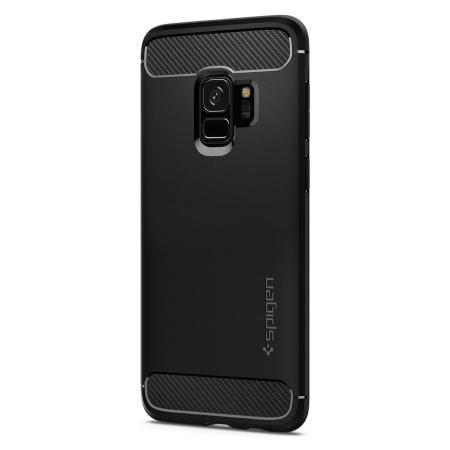 Spigen Rugged Armor Samsung Galaxy S9 Tough Case - Black