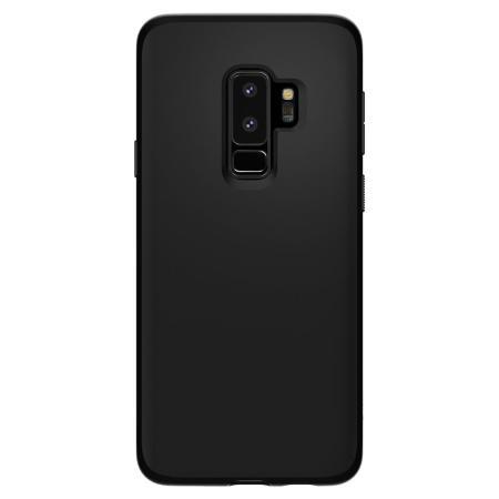 official photos 4d57f f6396 Spigen Liquid Crystal Samsung Galaxy S9 Plus Case - Matte Black