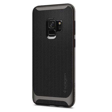 Spigen Neo Hybrid Samsung Galaxy S9 Case - Gunmetal