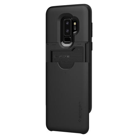 pretty nice 2b78a 2e9f8 Spigen Slim Armor CS Samsung Galaxy S9 Plus Case - Black
