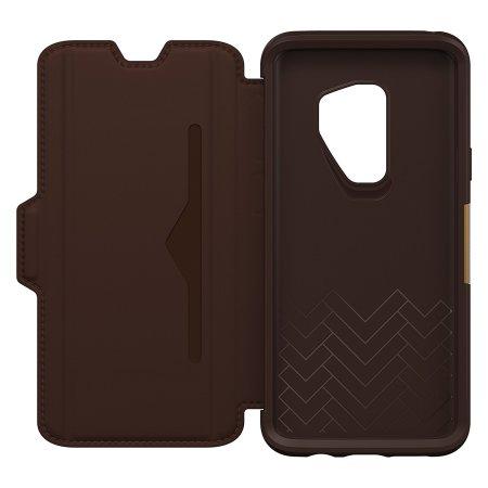OtterBox Strada Samsung Galaxy S9 Case - Brown