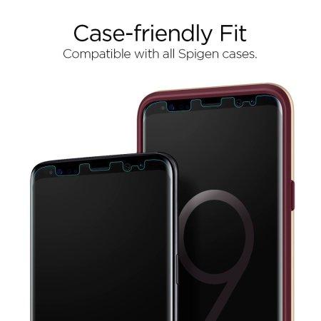 separation shoes ba460 3b9f1 Spigen Samsung Galaxy S9 Plus Neo Flex Screen Protector - 2 Pack