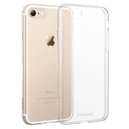 crystal ultra-thin iphone 8 gel case - 100% clear