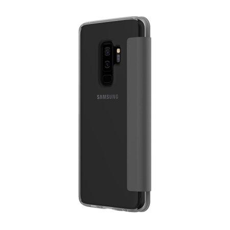 Incipio NGP Folio Samsung Galaxy S9 Plus Wallet Case - Smoke / Black