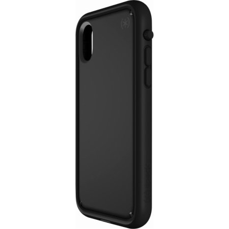 speck presidio ultra iphone x tough case w/ removable bumper - black
