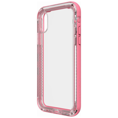 lifeproof next iphone x tough case - cactus rose