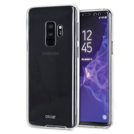 Olixar FlexiCover Complete Protection Galaxy S9 Plus Case - Clear