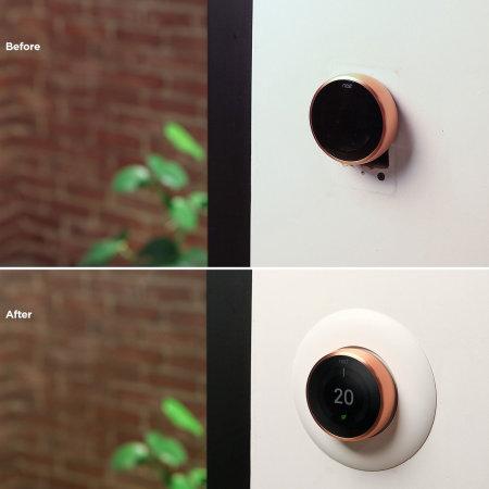 Elago Nest Thermostat Wall Plate - Black