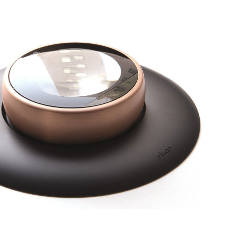 Elago Nest Thermostat Wall Plate - Black