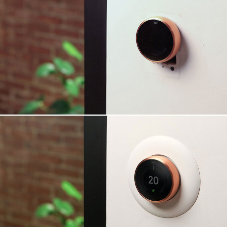 Elago Nest Thermostat Wall Plate - White