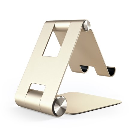 Satechi R1 Universal Aluminium Hinge Holder Foldable Stand - Gold