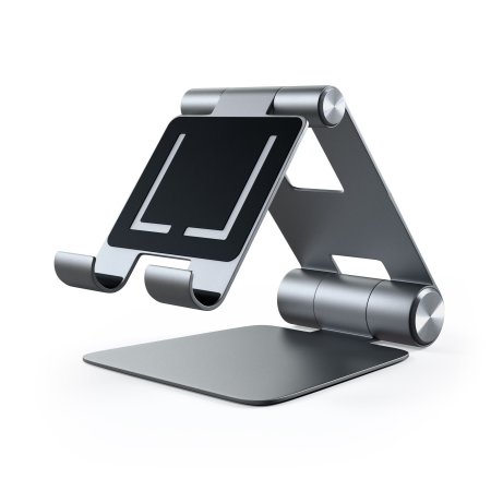 Satechi R1 Universal Aluminum Hinge Holder Foldable Stand - Space Grey